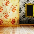 Stock Photo: Vintage interior design