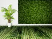 Interior design scene — Stock Photo