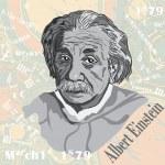 Постер, плакат: Einstein s face