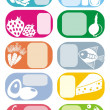 Stock Photo: Vector icons set
