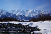 Mt. Shiroumadake, Nagano Japan — Stock Photo