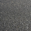 Fresh asphalt road — Stock Photo
