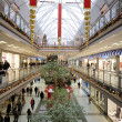 Interior of a shopping mall - Stock Photo
