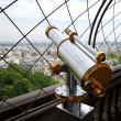 Binoculars in Paris — Stock Photo