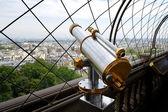Binoculars in Paris — Stock Photo