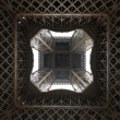 Stock Photo: Under Eiffel tower, Paris, France