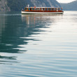 Tourboat in Konigssee lake — Stock Photo