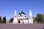 Russia, the city of Yaroslavl, the church of Elijah the Prophet — Stock Photo