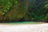 Secret perfect beach — Stock Photo
