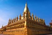 Pha That Luang temple — Stock Photo