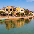 Panoramic view of Hoi An old town, Vietnam - Stock Photo