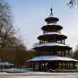 Stock Photo: Chinese turm at English Garden