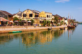 Panoramic view of Hoi An old town, Vietnam — Stock Photo
