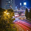 City night scene in Tokyo — Stock Photo