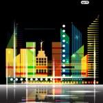 City Landscape vector — Stock Vector