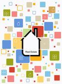 City real estate — Stock Vector