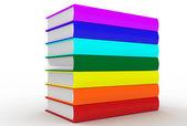 A whole lot of books — Fotografia Stock