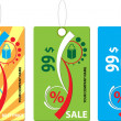 Royalty-Free Stock Imagen vectorial: Hot labels for price vector