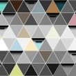Royalty-Free Stock Vector Image: Triangle abstract vector
