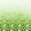 Royalty-Free Stock Vector Image: Green abstract vector background