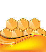 Honey vector illustration — Stock Vector