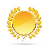 Laurel wreath vector format — Stock Vector