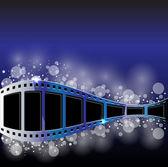 Film strip vector background — Stock Vector