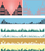 Real estate vector banners — Stock Vector