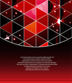 Triangle abstract background — Vecteur