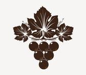 Wine icon vector — Stock Vector