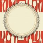 Restaurant menu design — Stock Vector #9462691