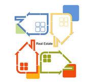 Abstract real estate vector — Stock Vector