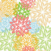 Floral pattern vector — Stock Vector