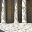 Stock Photo: Great colonnade