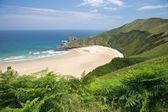 Lonely Torimbia beach — Stock Photo