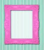 Ornamental pink frame — Stock Photo