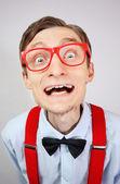 Zabawny facet — Zdjęcie stockowe