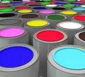 Краска — Stock Photo