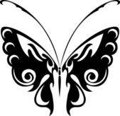 Бабочка-мотылёк — Stock Vector