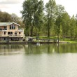 Lake front properties, Woodland WA. — Stock Photo