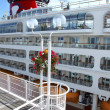 Stock Photo: Cruise ship, CanadPlace Vancouver BC Canada.