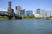 Portland Oregon skyline. — Stock Photo