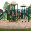 Foto Stock: Children playground.