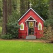 Stock Photo: St Ann's Chapel in woods, Portland OR.