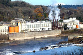 Old mill factory in Oregon city, Oregon. — Stock Photo