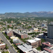 East Salt Lake city, city view and mountains Utah. — Stock Photo #9360968