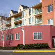Stock Photo: Condominiums in Portland Oregon.