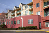 Condominiums in Portland Oregon. — Stock Photo