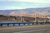 The Dalles bridge, Oregon state. — Stock Photo