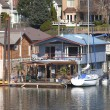 Two level floating house, Portland OR. — Stock Photo #9434415
